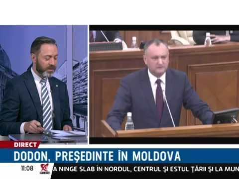 Igor Dodon, președintele Moldovei. România, insulă proamericană