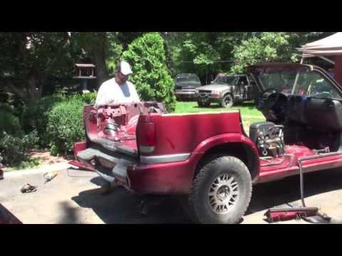 Redneck Convertible  / Cut roof off  4 door GMC JIMMY SUV Truck
