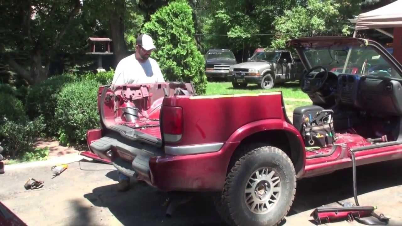 Redneck Convertible / Cut roof off 4 door GMC JIMMY SUV ...