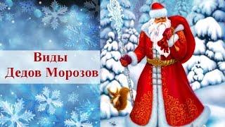 Виды Дедов Морозов. Дед Мороз разных стран мира