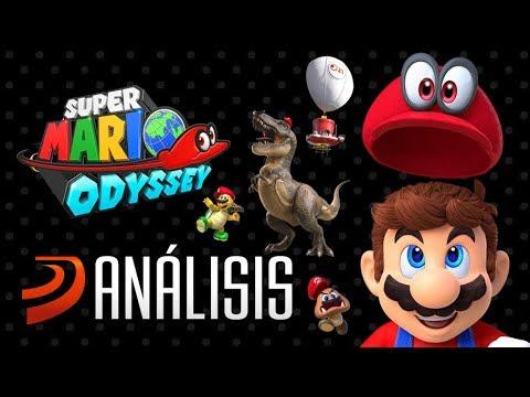 SUPER MARIO ODYSSEY - Análisis de un juego de 10