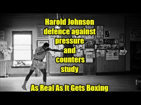 Harold Johnson defence against pressure and counters study