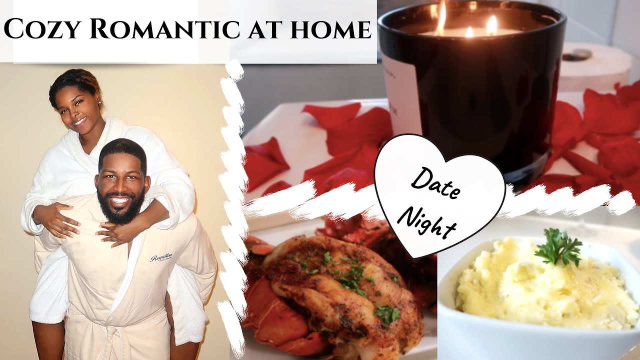 Romantic Stay At Home Date Night Cook With Me