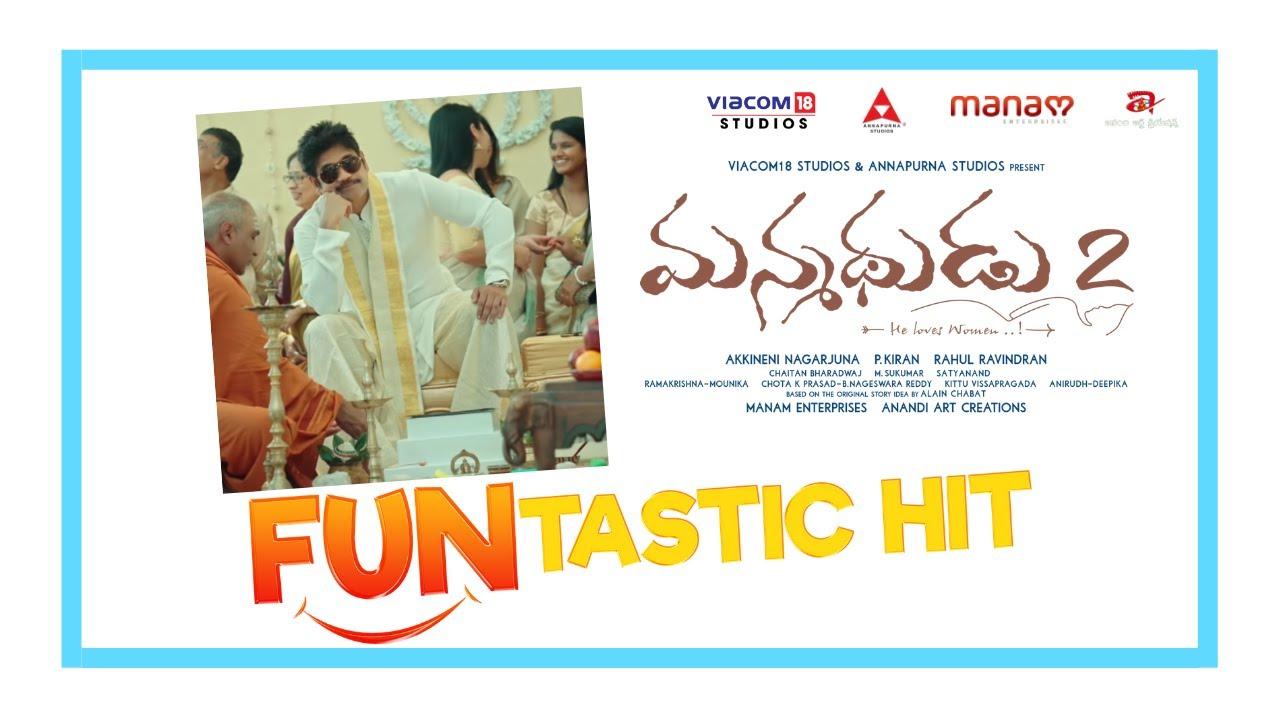 Manmadhudu 2 FUNtastic hit promos(3)- Nagarjuna, Rakul Pre