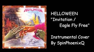 HELLOWEEN - Invitation/ Eagle Fly Free - Instrumental Cover