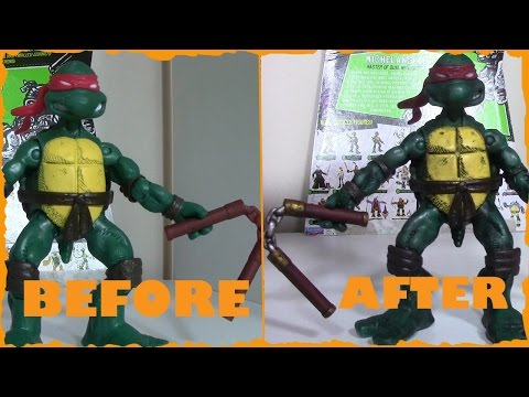 Original Comic Book Michaelangelo Paintjob | FrigginBoomToys