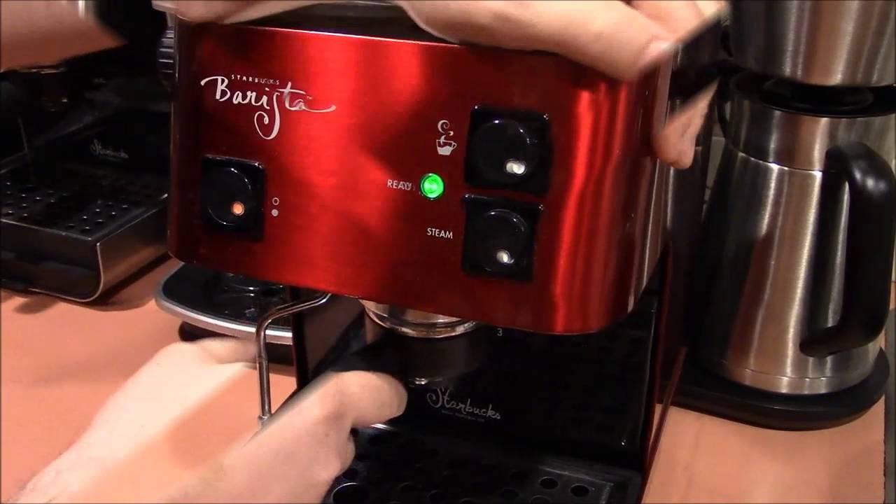 Starbucks Barista Espresso Machine