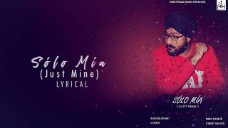 Solo Mia Just Mine Mind Frique Free MP3 Song Download 320 Kbps
