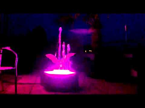 Dancing Fountain DMX Project
