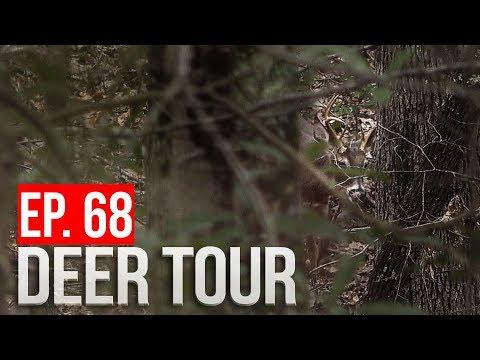 Full Draw On ALABAMA BUCK! January Public Land RUT HUNT! - DEER TOUR E68