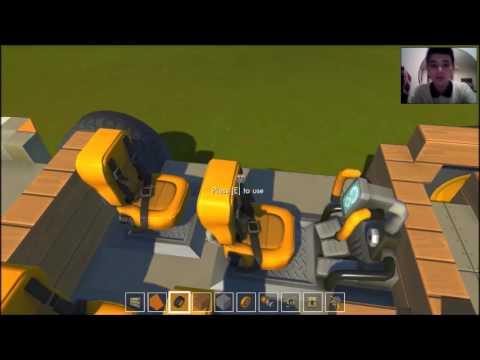 Gameplay Scrap Mechanic Cum sa faci o Dacia 1310 Part2