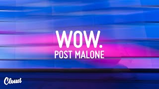 Post Malone - Wow. [Bass Boosted]