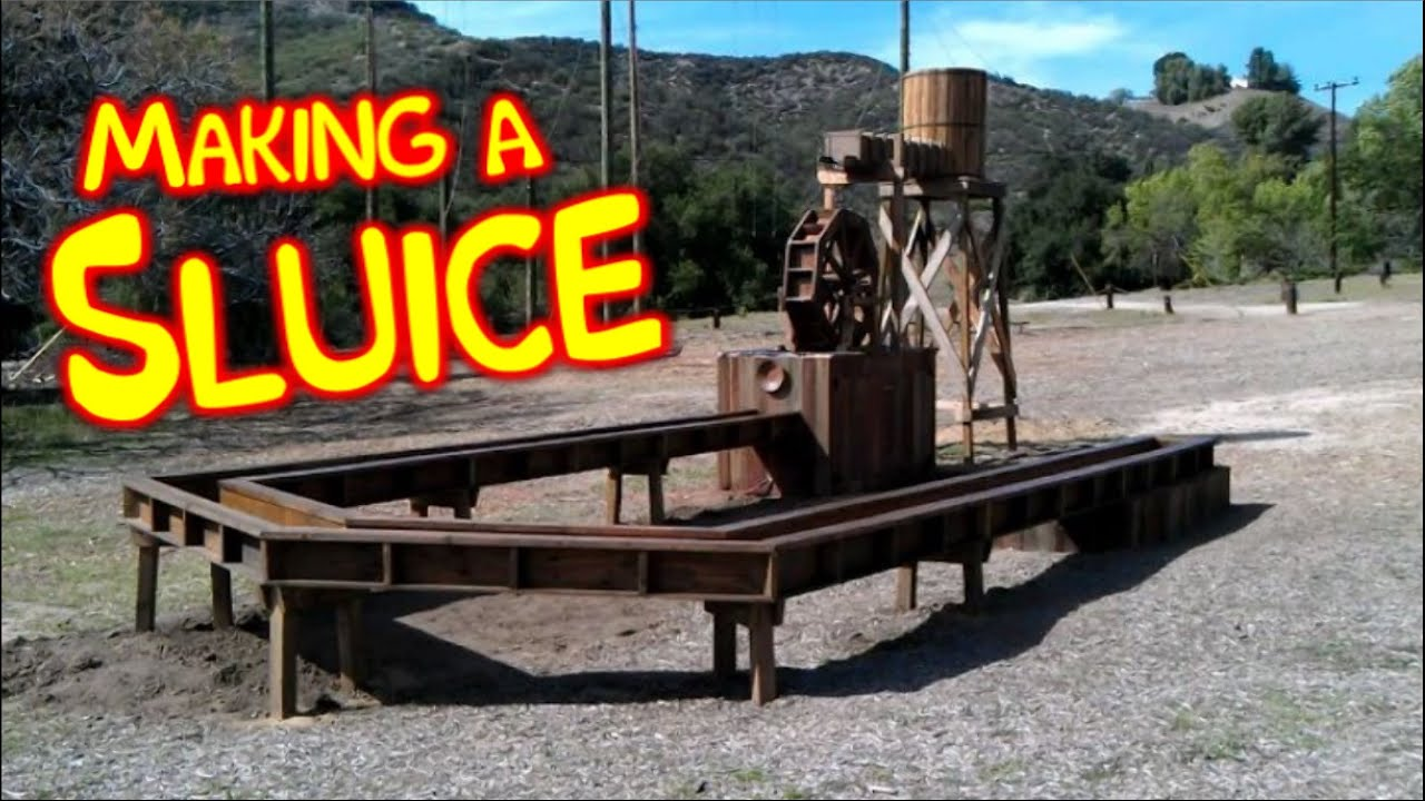 how to build a sluice box pdf