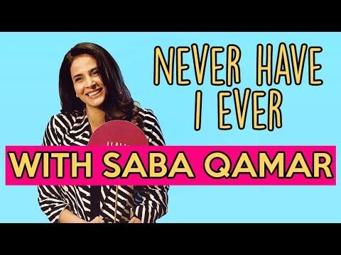 Never Have I Ever With Saba Qamar | ShowSha