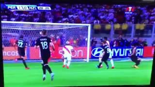 2018W杯最後の出場枠はペルー!ペルー対ニュージーランド2017年11月16日