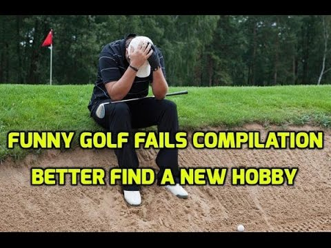 Funny Golf Fails Compilation - Better Find a New Hobby