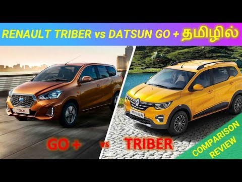 Renault TRIBER vs Datsun GO + Comparison Review in Tamil | @ Wheels On Review