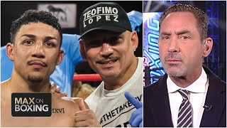 The different relationships Lomachenko and Lopez have with their fathers | Max on Boxing