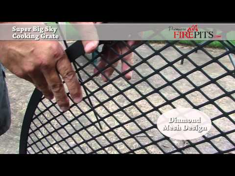 Super Big Sky Fire Pit Cooking Grate by Premiere Fire Pits<a href='/yt-w/gD1viSPkBWs/super-big-sky-fire-pit-cooking-grate-by-premiere-fire-pits.html' target='_blank' title='Play' onclick='reloadPage();'>   <span class='button' style='color: #fff'> Watch Video</a></span>