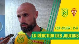 FC Nantes - Sporting Gijon : la réaction des joueurs