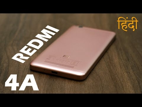 Redmi 4A full review, design, gaming, camera and battery (in Hindi)