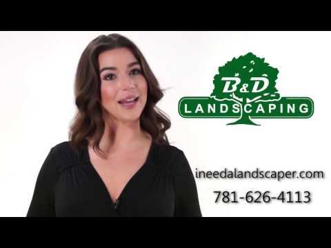 Cohasset Landscapers (781) 626-4113 - B & D Landscaping
