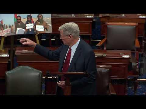 Inhofe speaks on the Senate Floor About Western Sahara
