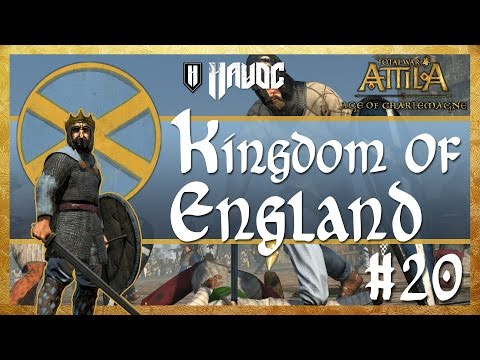 Total War: Attila - Age of Charlemagne - Kingdom of England #20 | War with the Caliphate!
