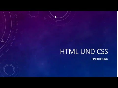 078 HTML Und CSS: Tabellenzellen Verbinden