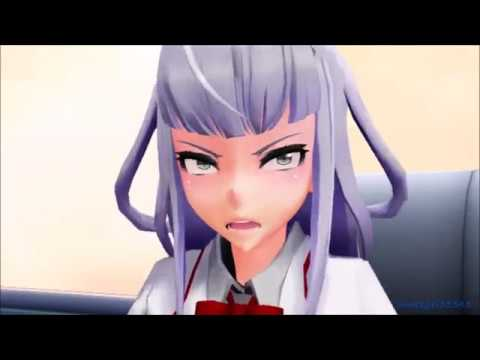 MMD x Yandere - Megami doesn't like the gay frogs