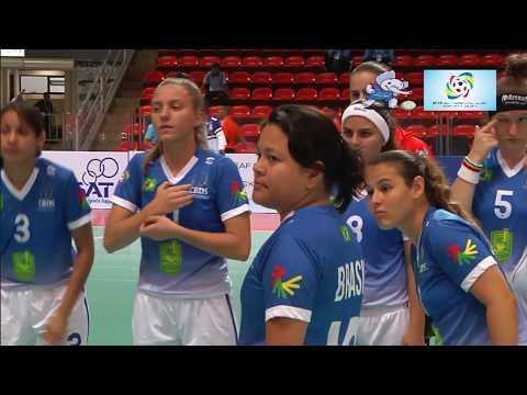 2016 Deaf Futsal 20 Nov 2016 Women Germany-Brasil Indoor Stadium Huamark part 1