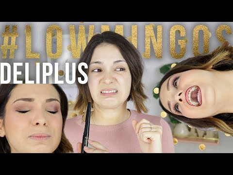 ¡Probando el maquillaje Deliplus! | #Lowmingos Mercadoooona, Mercadona.