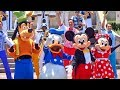 Disneyland S 62nd Birthday Celebration With Mickey Mouse Dapper Dans Many More Friends mp3