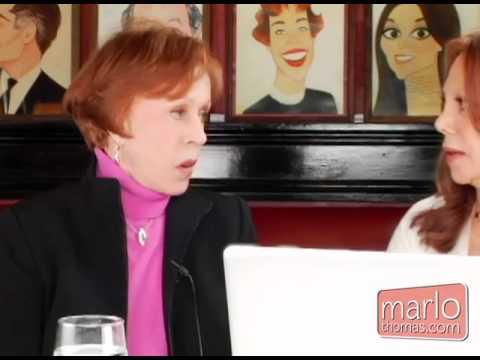 Carol Burnett With Marlo Thomas