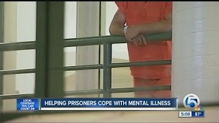Helping prisoners cope with mental illness