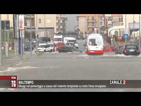 TG CANALE 2_DILUVIO SULLA CITTA' DI ALTAMURA