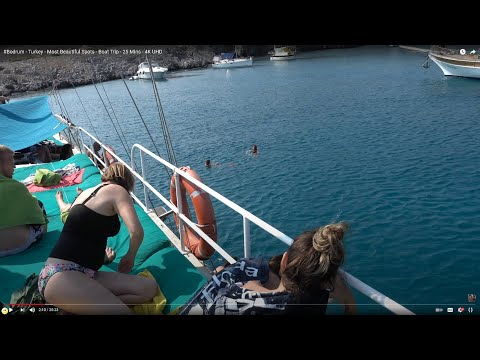 Bodrum - Turkey - Most Beautiful Spots - 25 Mins - 4K Ultra HD 2160p