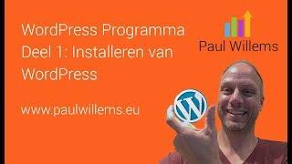 WordPress Deel 1: Het installeren van WordPress