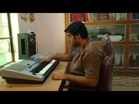 "Indian Classical Music 🎶 Raga Ahir Bhairav ""Albela Sajan"" (Keyboard Cover Sarod Style Fusion 🎹)"
