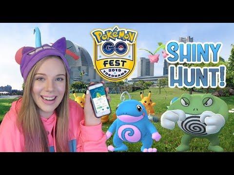 GO FEST YOKOHAMA GLOBAL EVENT! Shiny Poliwag Hunt! Pokémon Go Live!