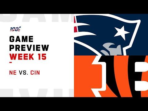 New England Patriots vs Cincinnati Bengals Week 15 NFL Game Preview