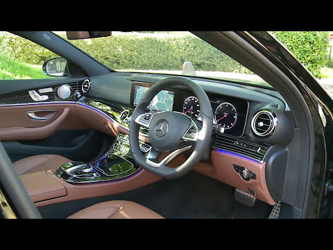 Mercedes E Class Saloon Review 2016