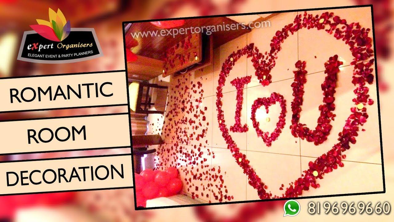 Best Surprise Room Decorations Hotel Room Decorators Romantic Surprise Gift Youtube
