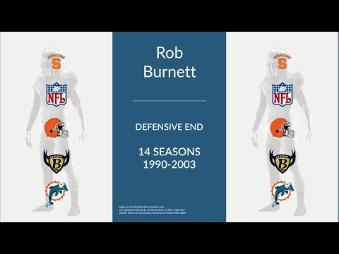 Rob Burnett: Football Defensive End