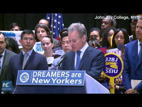 New York sues Trump over DACA