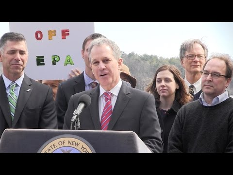 Eric Schneiderman voices support of The Clean Water Rule, EPA