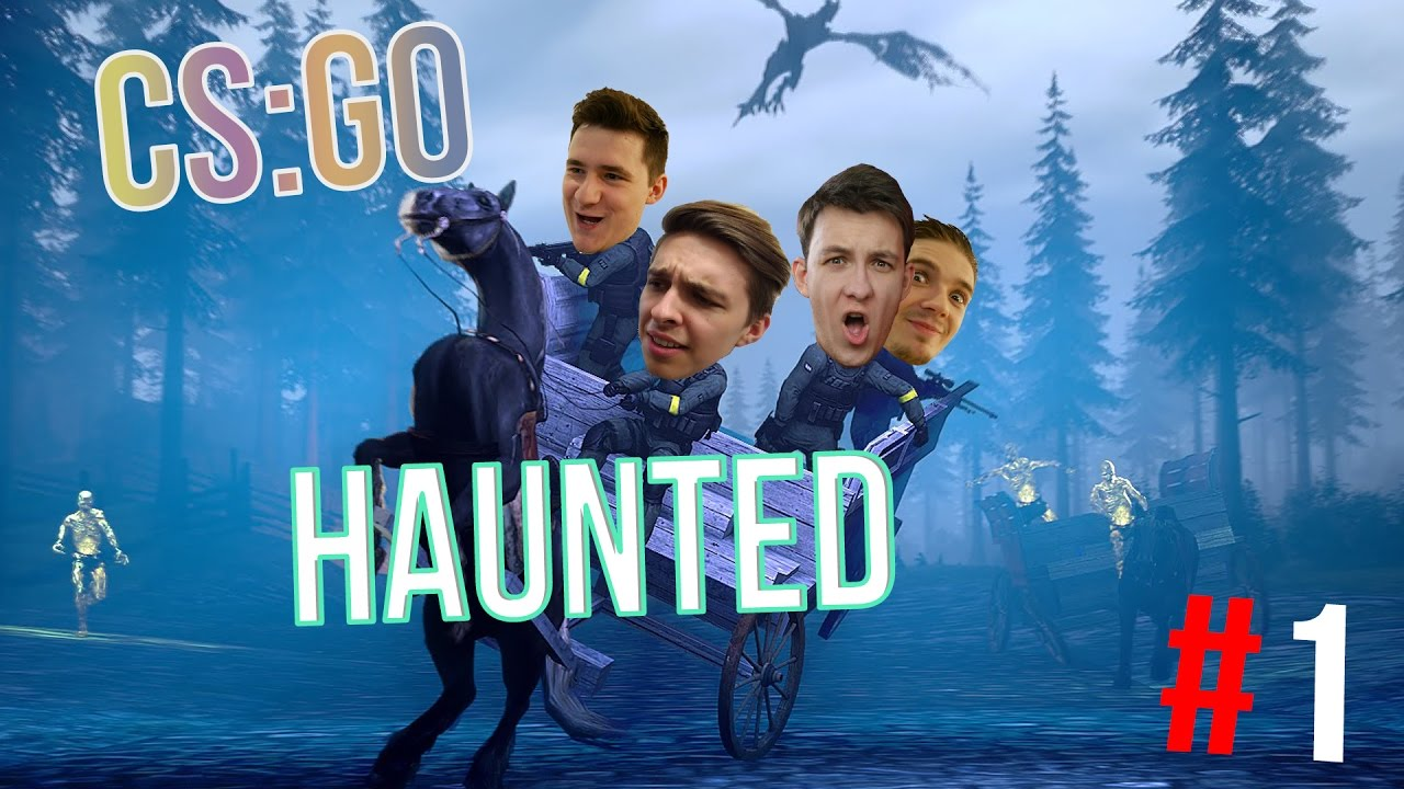 Download CS:GO   Haunted co-op #1 w/ Bax, Wedry a House