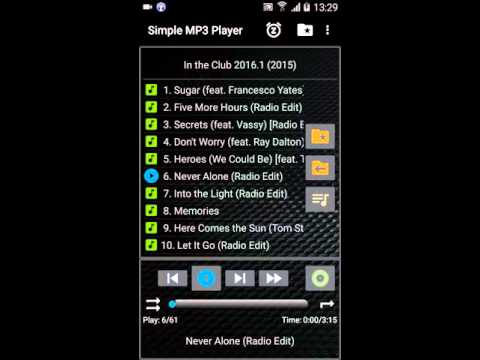 Android App Simple MP3 Player V2.1 en