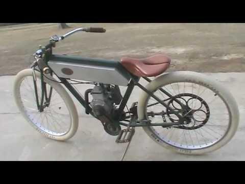 Board Track Motor Bike
