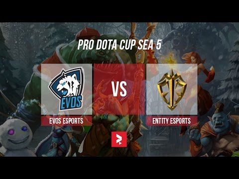 Team Evos Vs Entity Esports Prodota Cup Sea  Melonnumbawan